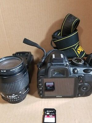 Nikon D D3100 14.2MP Digital SLR Camera - Black (Kit w/ 18-55mm and 35mm to 80mm