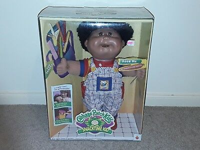 snacktime cabbage patch kids Extremely Rare