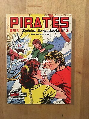 PIRATES n°3 – Editions Aventures et Voyages – Avril 1960 – TBE