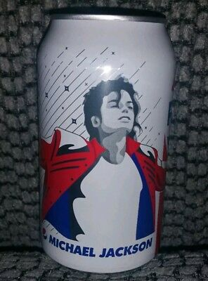 2018 Rare Collectible Michael Jackson Regular Pepsi Can, Unopened