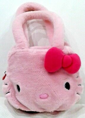 HELLO KITTY borsa borsetta peluche bambina colore rosa - originale by SANRIO