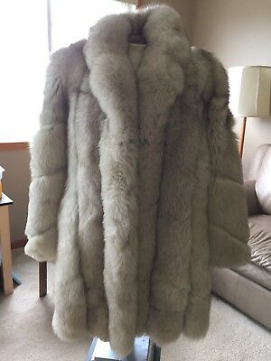 Vtg Chole Women's Fur Coat *Damaged* For Repair, Repurpose, Crafting, Costume