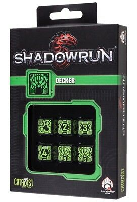 Shadowrun: Decker Black/Green '6'