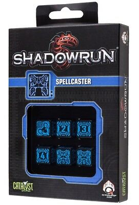 Shadowrun: Spellcaster Black/Blue '6'