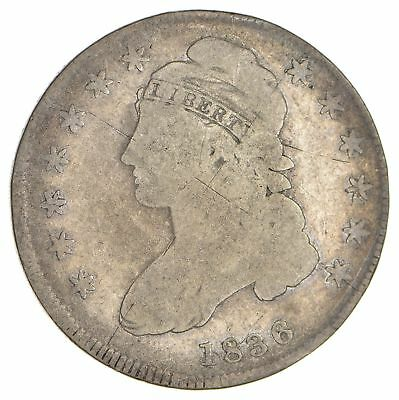 1836 Capped Bust Half Dollar - Circulated *0056