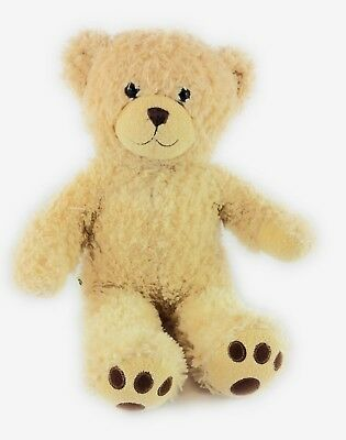 "Build-a-bear Workshop Beige Teddy Bear Stuffed Animal Plush 16"" Toy B-A-B"