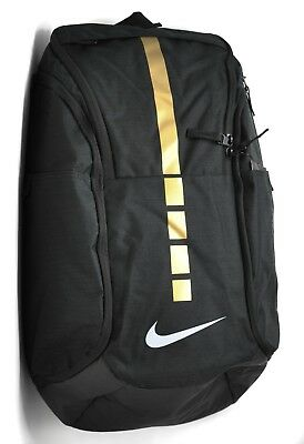 Nike Hoops Elite Pro Backpack in Black Metallic Gold White BA5554-010 NEW a476156aaaa6f
