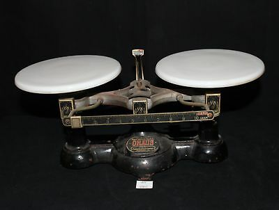 ThriftCHI ~ Ohaus Balance Scale for Fisher Scientific Co. Porcelain Plates