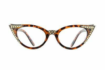559d49e04a98 CAT-EYE READING GLASSES made with Swarovski Crystals -  24.99