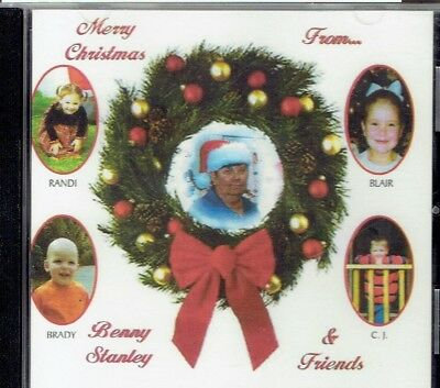 """BENNY STANLEY """" Merry Christmas from Benny Stanley & Friends"""" cd"""