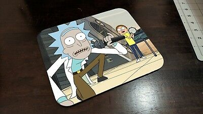 Rick and Morty Inspired Mousepad - Get Schwifty