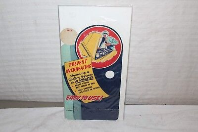 """Vintage c.1940 Shell Anti-Freeze Gas Station 13"""" Sign"""