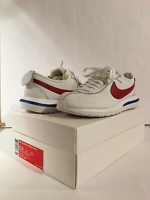 c864bb997227 Nike Roshe Cortez NM SP Forrest Gump Nikelab White Red Royal 806952-164  Size 8.5