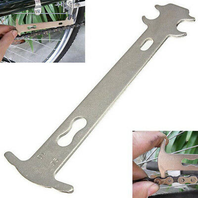 Portable Bike Chain Wear Indicator Gauge Checker Stretched Tool Cycling Bicycle