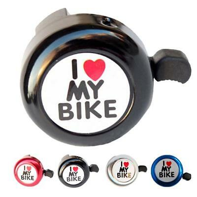 Mini Aluminum Alloy Bicycle Cycle Bell Alarm Bike Bike Cycling Handlebar Horn