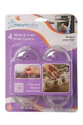 Dreambaby Stove & Oven Knob Covers 4 Pack Baby Toddler Oven Safety Dream Baby