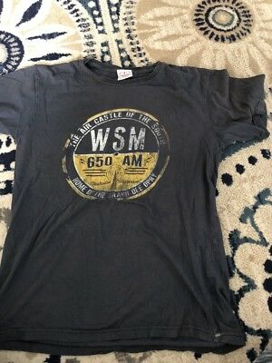 The GRAND OLE OPRY T-Shirt / Radio 650WSM - Small VGUC NASHVILLE Country Music