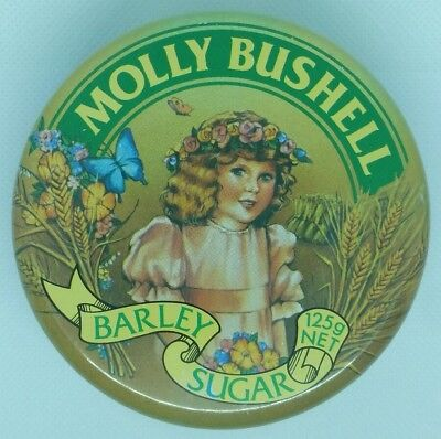Vintage Molly Bushell Barley Sugar Candy Tin