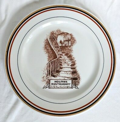 DH. Holmes Plate 1937 Department Store New Orleans Syracuse China RARE
