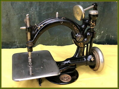 Cute Lil Old Willcox & Gibbs ~Automatic Tension~ Sewing Machine ~Antique