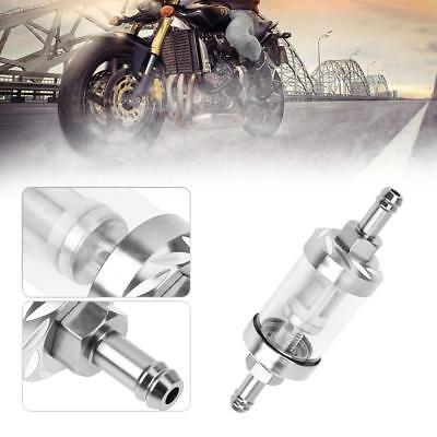 8mm Gas Fuel Filter Oil Clear Scooter Modification Glass for ATV Pit Motorcycle
