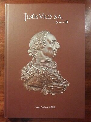 Jesus Vico auction 151 catalog ancient Roman Visigoth medieval Spanish coins