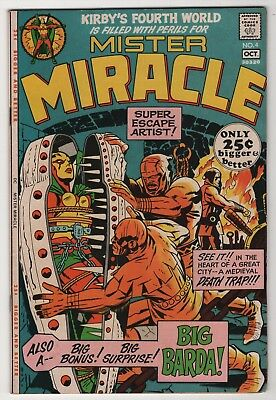 Mister Miracle #4 FN/VF 7.0 higher grade 1st appearance Big Barda 1971 Kirby art