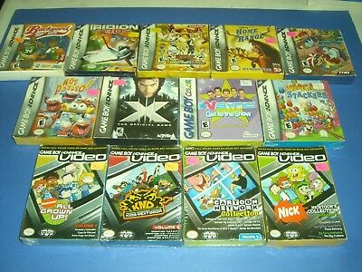 Lot of 13 GBA Gameboy Advance games all NEW & FACTORY SEALED! Xmen YuGiOh