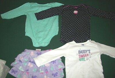 8397aa2037b8 INFANT BABY GIRL Clothes SIZE 12 Months Mixed LOT ITEMS L S BODY ...