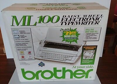 Brother ML100 electric typewriter - New in box never opened