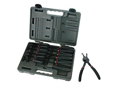 Gearwrench 3495 12-Piece Fixed Tip Combination Snap Ring Pliers Set