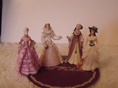 figurines micro mini tudor and stuart court ladies