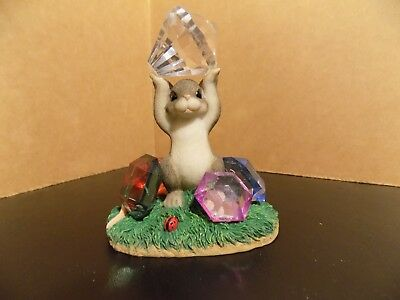 Fitz and Floyd Charming Tails Mice Figurine You're a Real Gem 98/248