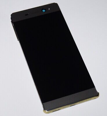 ORIGINAL SONY Xperia XA Ultra F3212 LCD DISPLAY TOUCHSCREEN FRAME COVER BLACK