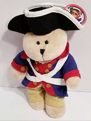 RARE Starbucks Bearista Revolutionary Bear 2005 Special Edition