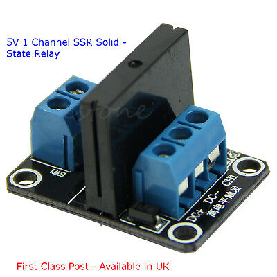 5V 1 Channel SSR Solid-State Relay - Suit - ARDUINO- RASPBERRY Pi  2 Amp
