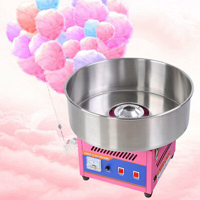 "20"" Tabletop Commercial Cotton Candy Machine Electric Candy Floss Maker Carnival"