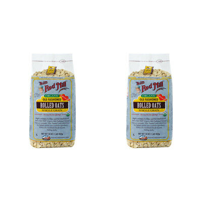 2X New Bob's Red Mill Organic Old Fashioned Rolled Oat Body Health Food Grocerie