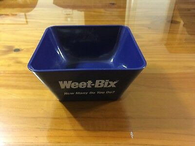 Collectable Weet-Bix How Many Do You Do Bowl.
