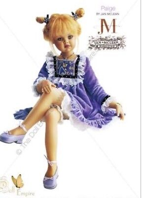 """JAN MCLEAN """"Paige"""" 2001 Doll Limited Exclusive Rele"""