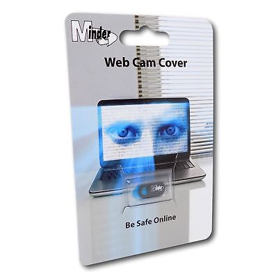 Minder Web Cam Cover 0.8mm Thin Webcam Camera Privacy Slider for Laptop Tablet