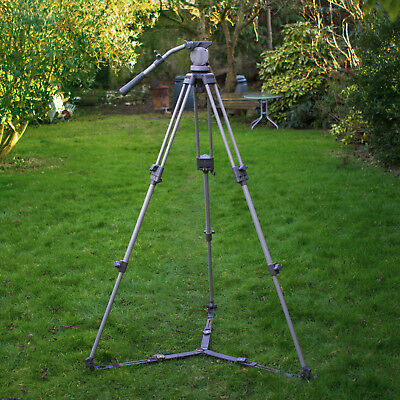 Libec T-60 2-Stage Video TRIPOD Legs 75mm Bowl H40 Fluid Head + Spreader ENG GC