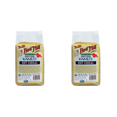 2X Bob's Red Mill Organic Kamut Hot Cereal Breakfast Food Low Fat Daily Health