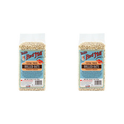 2X Bob's Red Mill Extra Chick Whole Grain Rolled Oat Body Health Food Groceries