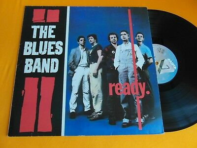 Lp   Blues Band  -  Ready  (Orig.1980)  Vg