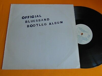 Lp   Blues Band  -  Official Blues Band Bootleg Album (Orig.1980)  G +