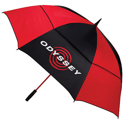 "Odyssey 68"" Auto Open Double Canopy Umbrella - New Golf Windproof Automatic"