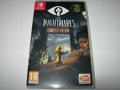 Nintendo Switch : LITTLE NIGHTMARES : COMPLETE EDITION -  Box ONLY - NO GAME!!
