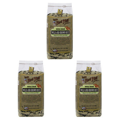3X New Bob's Red Mill Wild Brown Rice Grain Cooking Daily Lunch Mix Daily Whole