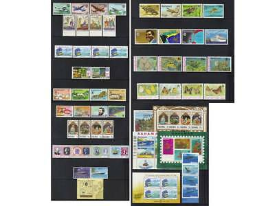 (171) Bahamas Qeii Mnh Collection In Sets & Ms
